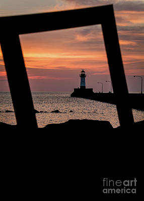 Photograph - The North Pier Lighthouse by Deborah Klubertanz