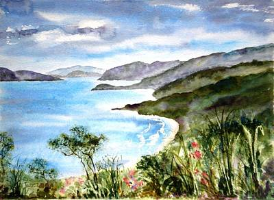 Painting - The North Shore by Diane Kirk