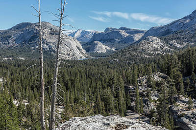Photograph - The North View Towards Tenaya Lake From Olmsted Point by Belinda Greb