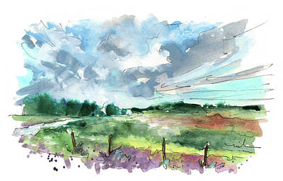 Painting - The North Yorkshire Moor 02 by Miki De Goodaboom