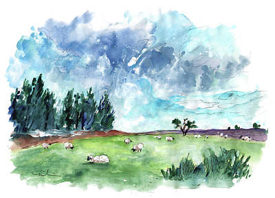 Painting - The North Yorkshire Moor 03 by Miki De Goodaboom