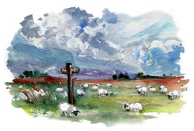 Painting - The North Yorkshire Moor 06 by Miki De Goodaboom