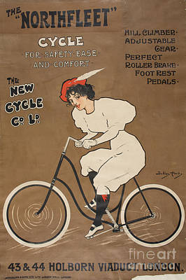 Cycles Painting - The Northfleet Cycle by MotionAge Designs