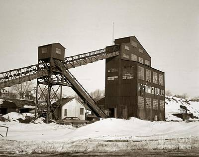 The Northwest Coal Company Breaker Eynon Pennsylvania 1971 Art Print
