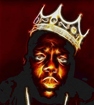 Biggie Photograph - The Notorious B.i.g. - Biggie Smalls by Paul Ward