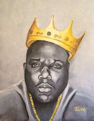 Painting - The Notorious B.i.g. by Justin Lee Williams