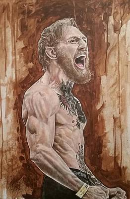 Painting - Conor Mcgregor 'the Notorious' by David Dunne