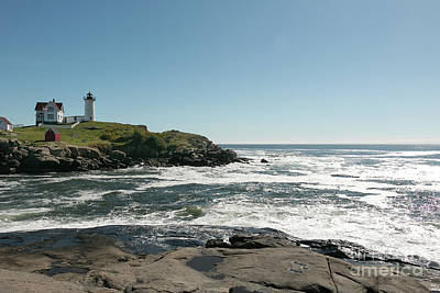 Photograph - The Nubble At Cape Neddick by Mim White