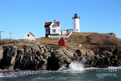 Photograph - The Nubble  by Jeffery Akerson