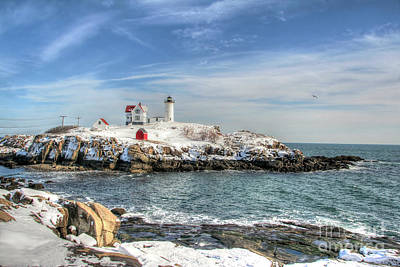 The Nubble Light Art Print