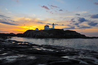 Southern Maine Photograph - The Nubble Light by Catherine Easton