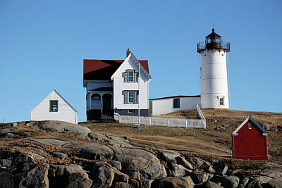 Photograph - The Nubble Light House  by Jeffery Akerson