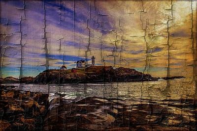 Photograph - The Nubble Lighthouse by Sherman Perry