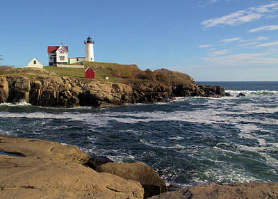 Lighthouse Photograph - The Nubble by Robert McCulloch