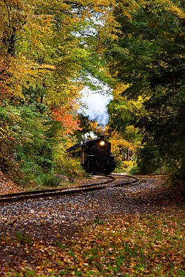 Photograph - The Number 40 Rounding The Bend by Jeff Folger