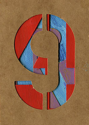 Photograph - The Number 9 by Robert Cattan