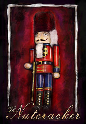 Ballet Painting - The Nutcracker by Julianne Black
