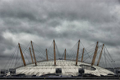 The O2 Arena Art Print by Martin Newman