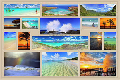 Photograph - The Oahu Collection by Aloha Art