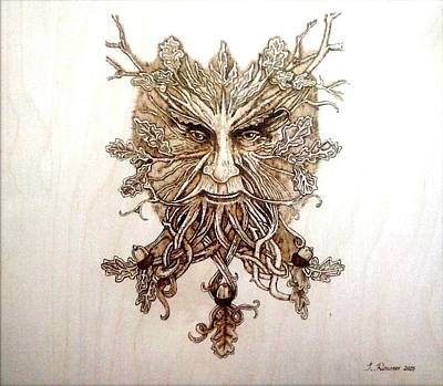 The Oak King Original by Isidoros Roussos