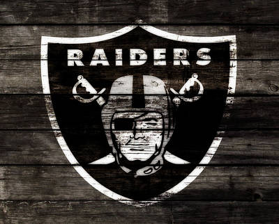 The Oakland Raiders 3b Art Print by Brian Reaves