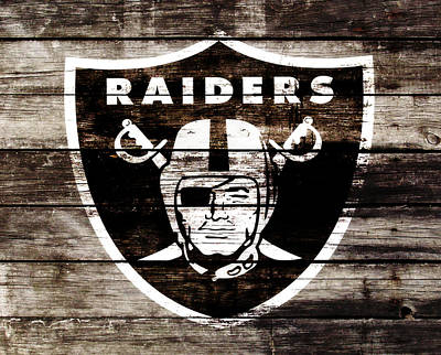 The Oakland Raiders 3c	 Art Print