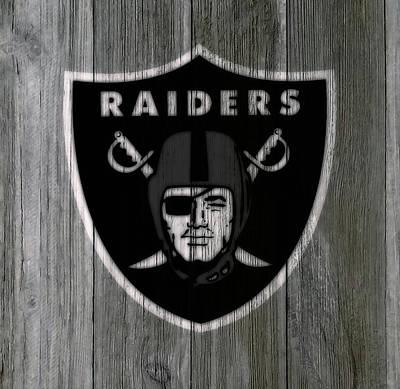 The Oakland Raiders 5c Art Print