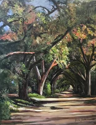 Painting - The Oaks by Gloria Smith