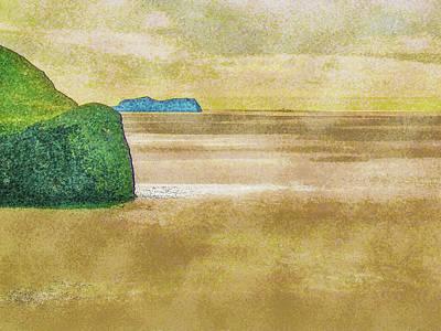 Digital Art - The Ocean Around Heimaey by Frans Blok