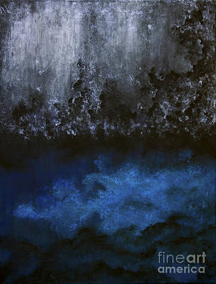 Duality Painting - The Ocean Beneath by Tim Musick