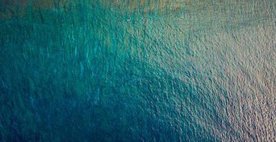 The Ocean Blue Print by Matty  Schweitzer