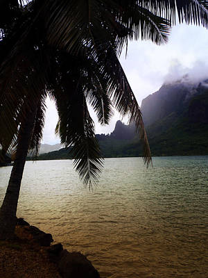 Photograph - The Ocean In Moorea by Kathryn McBride