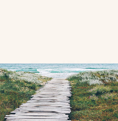 The Ocean Is Calling And I Must Go  Art Print by Uma Gokhale