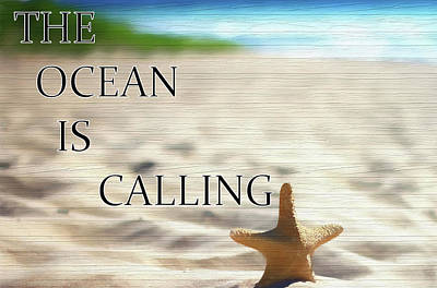 Mixed Media - The Ocean Is Calling by Dan Sproul