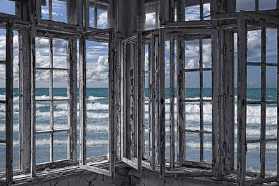 Frame House Photograph - The Ocean Is Coming To Take It Away . . . Haha by Joachim G Pinkawa