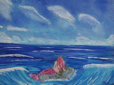 Painting - The Ocean Is My Home by Bernd Hau