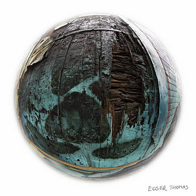 Photograph - The Ocean - Painted Earth Collection by Edser Thomas