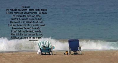 Photograph - The Ocean by Pamela Walton