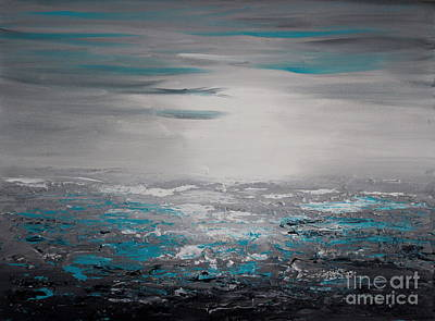 Painting - The Ocean by Preethi Mathialagan
