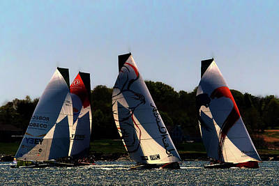 Photograph - The Ocean Race by Tom Prendergast