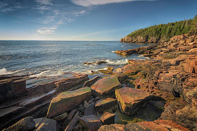 Photograph - The Ocean Trail Of Acadia National Park by Rick Berk
