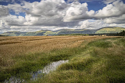 Photograph - The Ochils by Jeremy Lavender Photography
