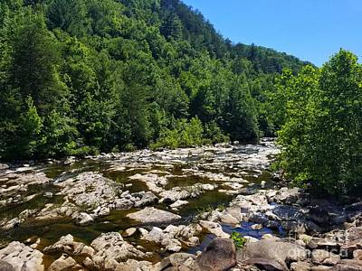 Photograph - The Ocoee River by Rachel Hannah