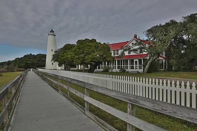 Photograph - The Ocracoke Island Lighthouse by Jimmy McDonald