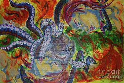 The Octopus  Art Print by Kevin King