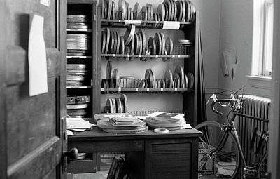 Photograph - The Office Of A Teaching Assistant, 1979 by Jeremy Butler