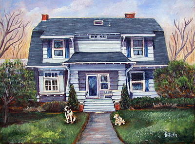 Painting - The Ogden Home by Patricia Piffath