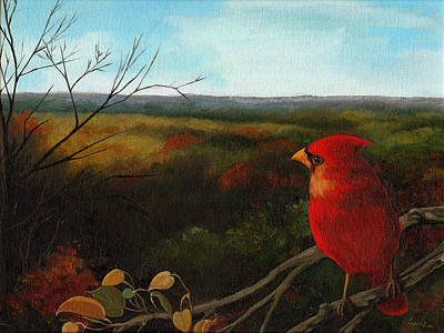 Painting - The Ohio Hills by Linda Apple