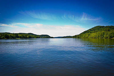 Photograph - The Ohio River by Jonny D