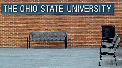 Photograph - The Ohio State University by Frozen in Time Fine Art Photography